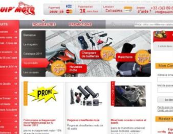 Site d'accessoires moto Equipmoto.fr