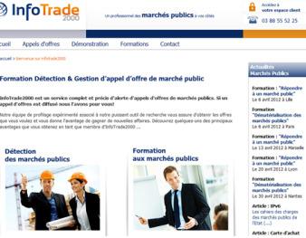 Appel d'offre de marché public