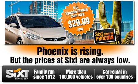 Sixt à Phoenix