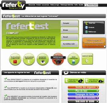 Test logiciel avec RerTest