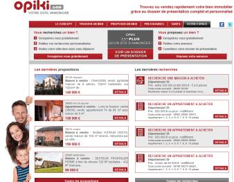 Opiki.com annonces immobilières