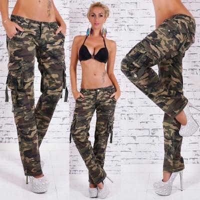 Jean fashion cargo