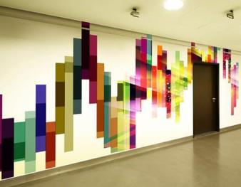 mur imprime