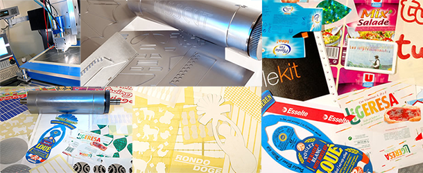 Kisscut, fabricant de cylindres et plaques de découpe