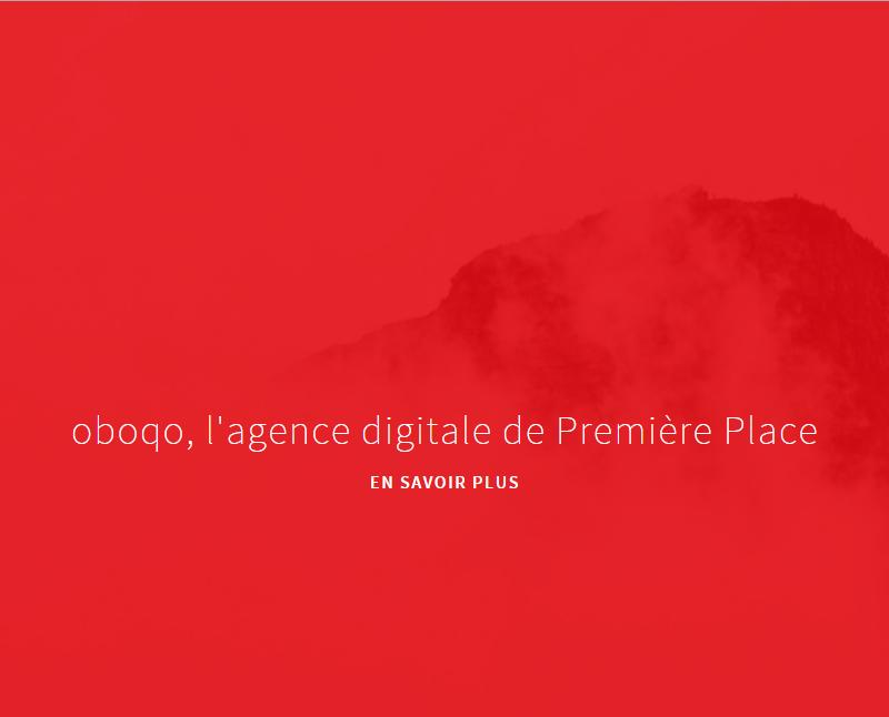 Aperçu du site Oboqo, agence web Mulhouse