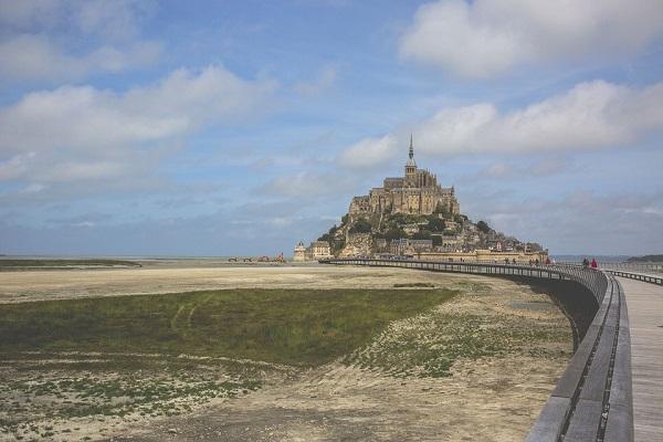 Baie du Mont Saint Michel, idéal pour une randonnée à cheval